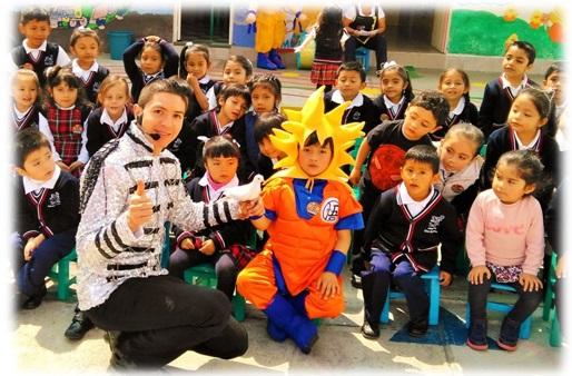 show de magia infantil (entre 3 a 8 años)